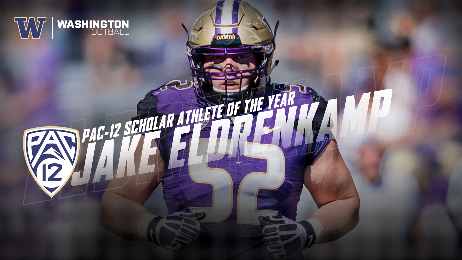 competitive price 8d63b 11f04 Eldrenkamp Named Pac-12 Scholar-Athlete Of The Year ...