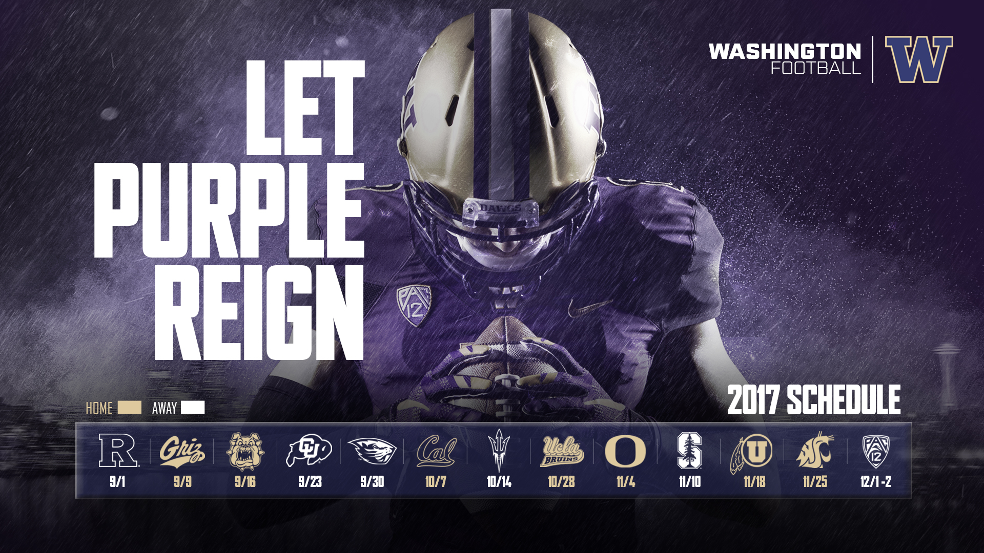 UW's 2017 Conference Football Schedule Revealed - University of ...