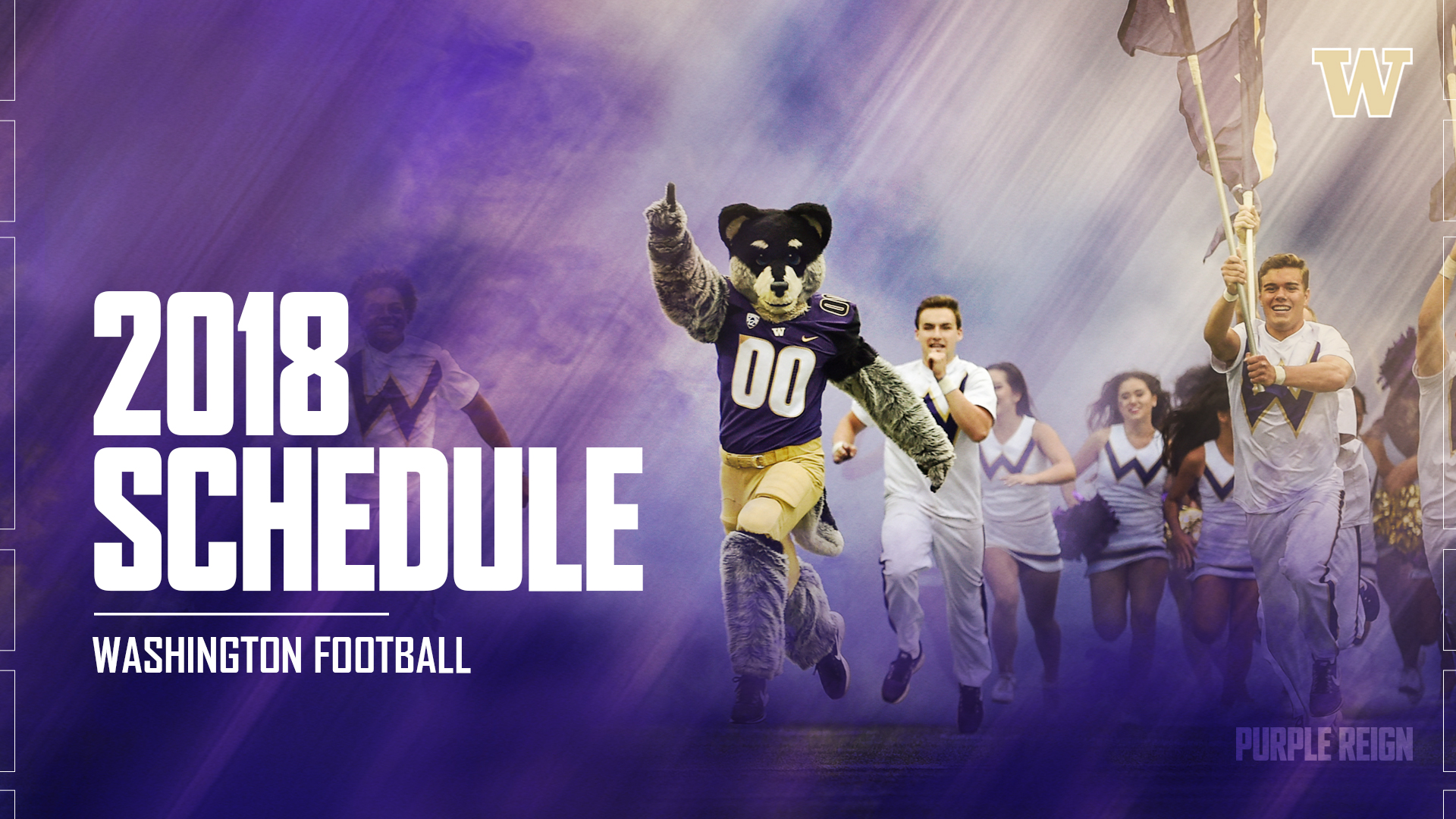 uw's full 2018 football schedule released - university of washington