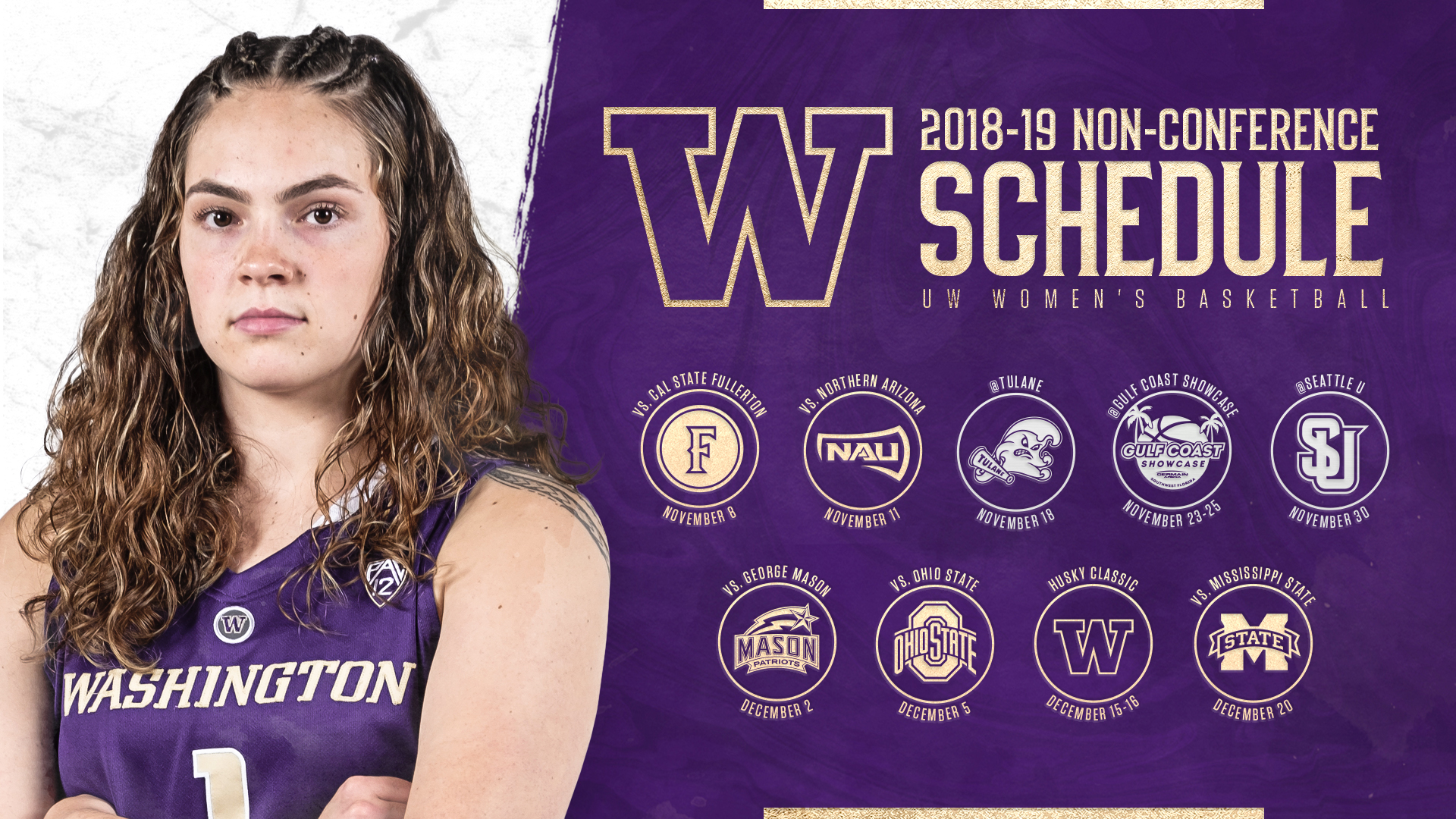huskies release 2018-19 non-conference schedule - university of