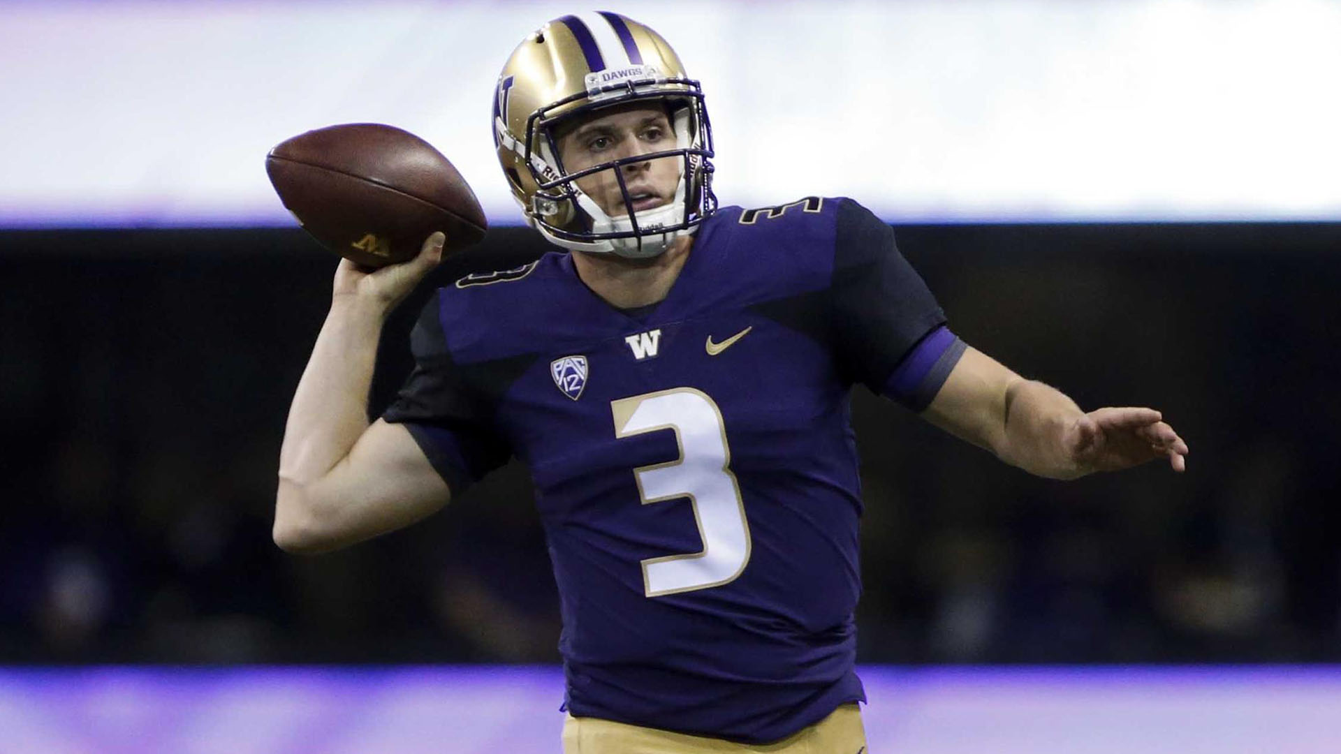 finest selection c782e b6c79 Browning Shines As No. 11 UW Routs No. 20 BYU 35-7 ...