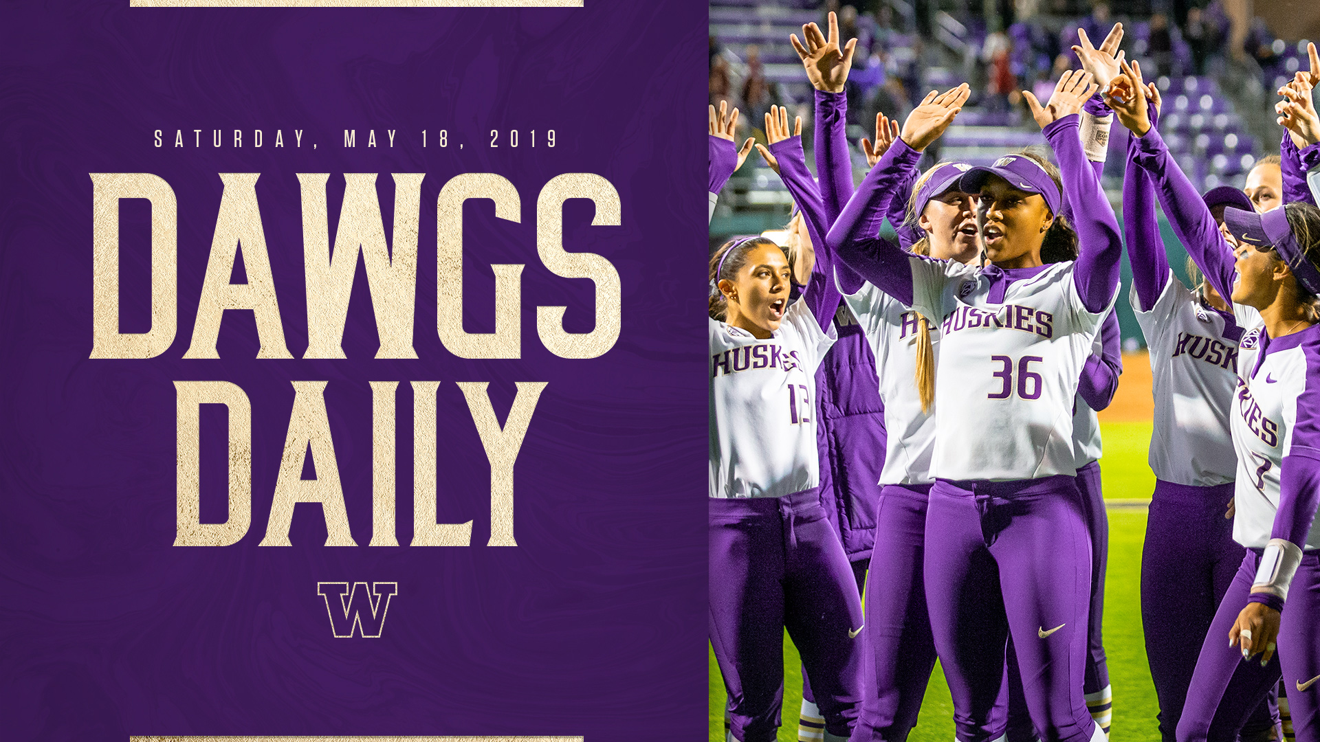 Dawgs Daily: Saturday, May 18